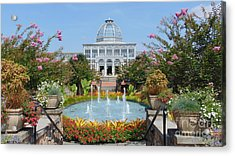 Lewis Ginter Botanical Garden Acrylic Print by Charlotte Gray