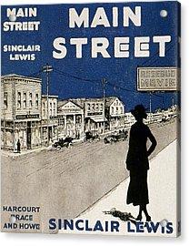 Lewis Main Street, 1920 Acrylic Print