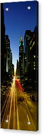 Lexington Avenue, Cityscape, Nyc, New Acrylic Print by Panoramic Images