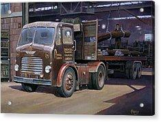Leyland Beaver Artic. Acrylic Print