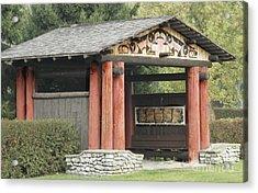 Lheit-li National Burial Grounds Entranceway Acrylic Print