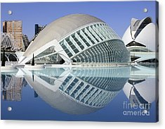 L'hemispheric Valencia Acrylic Print