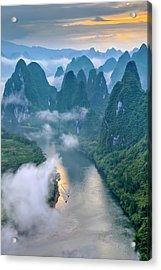 Li River Acrylic Print
