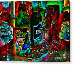 Acrylic Print featuring the photograph Libations by Linda Bianic