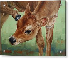 Libby With An Itch Acrylic Print