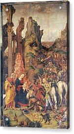 Liberale Da Verona, Adoration Acrylic Print by Everett