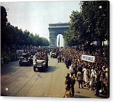 Liberation Of Paris Acrylic Print
