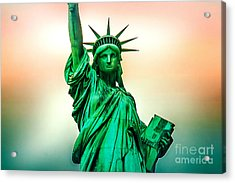 Liberty And Beyond Acrylic Print by Az Jackson
