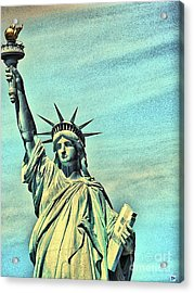 Acrylic Print featuring the photograph Liberty by Andy Heavens