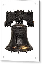 Liberty Bell Acrylic Print by Olivier Le Queinec