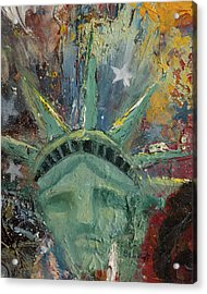 Liberty Breaking Out Acrylic Print