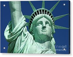 Liberty Acrylic Print by Brian Jannsen