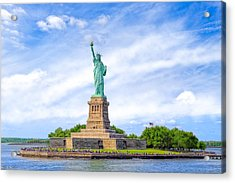Liberty Enlightening The World - New York City Acrylic Print