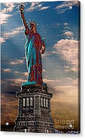 Acrylic Print featuring the photograph Liberty For All by Luther Fine Art
