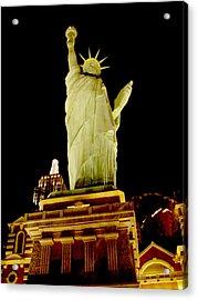 Liberty In Las Vegas Acrylic Print