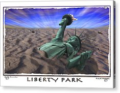 Liberty Park Acrylic Print by Mike McGlothlen
