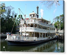Acrylic Print featuring the photograph Liberty Riverboat by David Nicholls