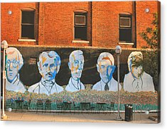 Liberty Street Mural Acrylic Print