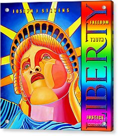 Liberty  Acrylic Print by Joseph J Stevens