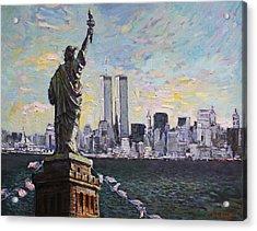Liberty Acrylic Print by Ylli Haruni