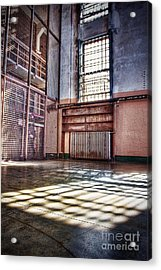 Library Cage Acrylic Print by Andrew Brooks