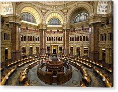 Library Of Congress Acrylic Print by Mountain Dreams