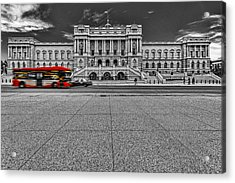 Acrylic Print featuring the photograph Library Of Congress by Peter Lakomy