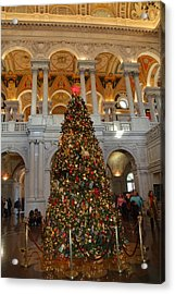 Library Of Congress - Washington Dc - 011312 Acrylic Print