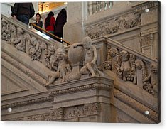 Library Of Congress - Washington Dc - 011313 Acrylic Print by DC Photographer