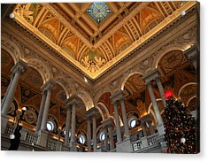 Library Of Congress - Washington Dc - 011314 Acrylic Print by DC Photographer