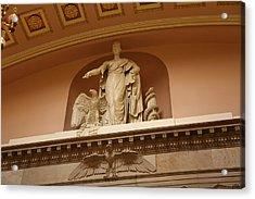 Library Of Congress - Washington Dc - 01132 Acrylic Print by DC Photographer