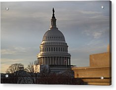 Library Of Congress - Washington Dc - 011320 Acrylic Print by DC Photographer