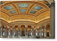 Library Of Congress - Washington Dc - 011322 Acrylic Print by DC Photographer