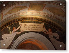 Library Of Congress - Washington Dc - 01135 Acrylic Print by DC Photographer