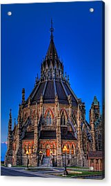 Library Of Parliament Acrylic Print