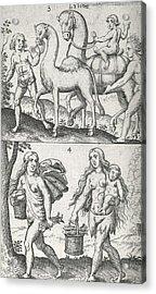 Libyan Peoples, 17th Century Acrylic Print