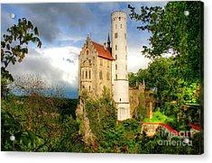 Lichtenstein Castle Swabian Alb Germany Acrylic Print