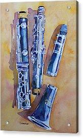 Licorice Pieces Acrylic Print by Jenny Armitage