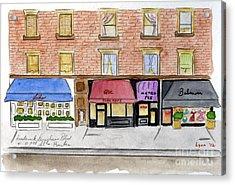 Lido On Frederick Douglass Blvd Acrylic Print by AFineLyne
