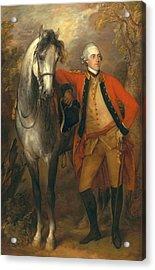 Lieutenant General Edward Ligonier Acrylic Print by Thomas Gainsborough