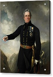 Lieutenant-general Sir George Pollock Acrylic Print by British Library