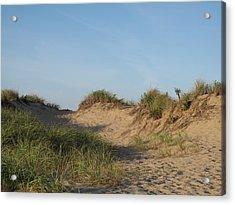 Lieutenant Island Dunes Acrylic Print