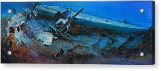 Life After The Last Flight Acrylic Print by Ottilia Zakany
