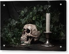 Life And Death Acrylic Print by Tom Mc Nemar