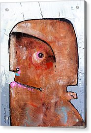 Life As Human No. 35 The Lost Tribe Acrylic Print by Mark M  Mellon