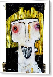 Life As Human Number Thirteen Acrylic Print by Mark M  Mellon