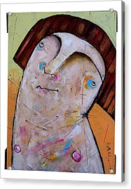 Life As Human Number Thirty Two Acrylic Print by Mark M  Mellon