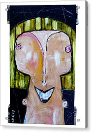 Life As Human Number Twenty Three Acrylic Print by Mark M  Mellon