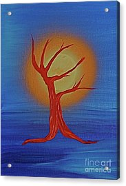 Acrylic Print featuring the painting Life Blood By Jrr by First Star Art