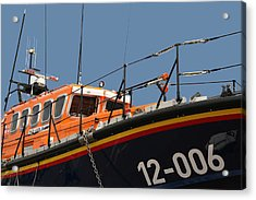 Acrylic Print featuring the photograph Life Boat by Christopher Rowlands